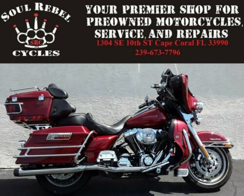 2005 Harley-Davidson Touring Red for sale