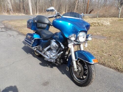 2005 Harley-Davidson Touring blue for sale craigslist
