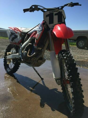 2005 Honda CRF Red craigslist