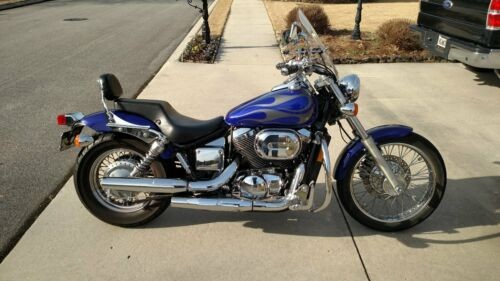 2005 Honda Shadow Blue for sale craigslist