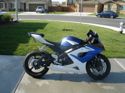 2005 Suzuki GSX-R Blue for sale