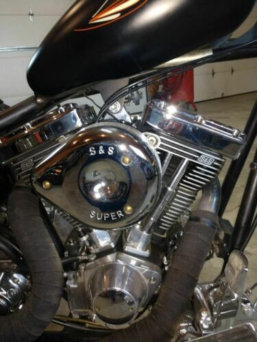 2006 Custom Built Motorcycles Carefree Hardtail Black for sale