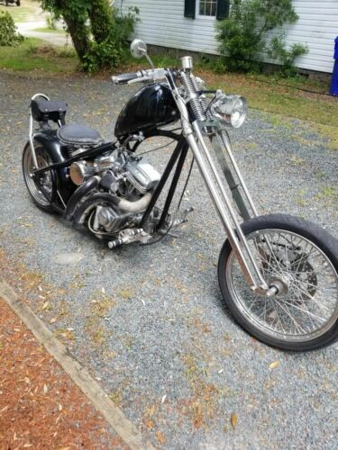 2006 Custom Built Motorcycles Chopper Black for sale craigslist