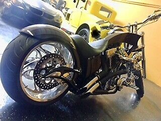 2006 Custom Built Motorcycles big bear chopper Black for sale craigslist