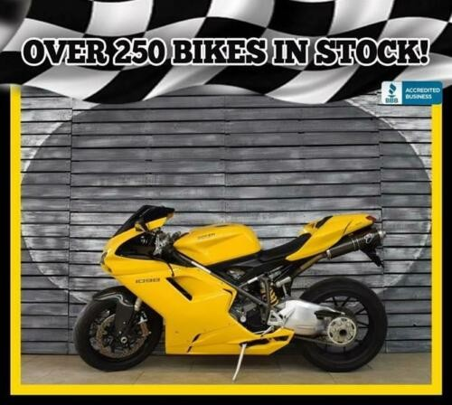 2006 Ducati 1098 -- Yellow for sale