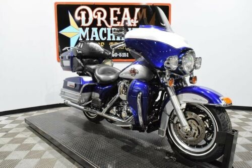 2006 Harley-Davidson FLHTCUI - Electra GlideUltra Classic -- Deep Cobalt Pearl and Pewter Pearl for sale craigslist