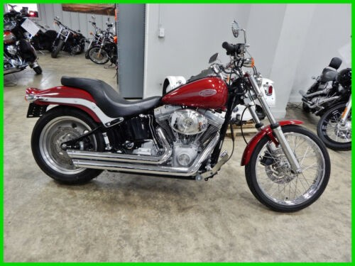 2006 Harley-Davidson FXSTI - Softail - Injected Fire Red Pearl for sale
