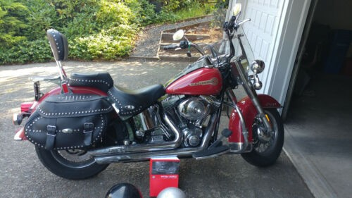 2006 Harley-Davidson Heritage Soft tail Red for sale craigslist
