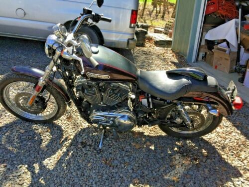 2006 Harley-Davidson Sportster 1200 Two tone Maroon Black for sale