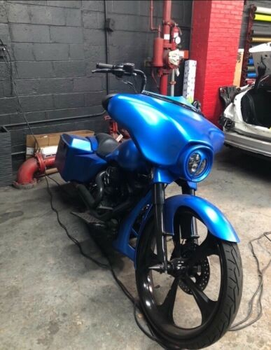 2006 Harley-Davidson Touring Blue for sale craigslist
