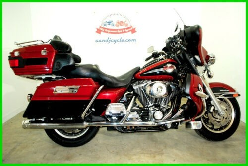 2006 Harley-Davidson Touring Electra Glide® Ultra Classic® Red and Black for sale craigslist