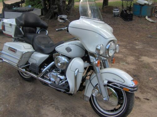 2006 Harley-Davidson Touring White for sale craigslist