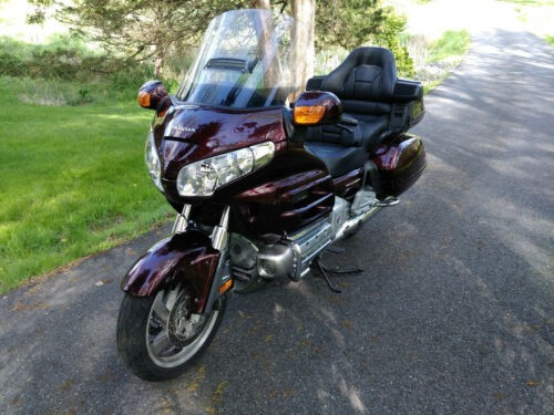 2006 Honda Gold Wing Burgundy craigslist