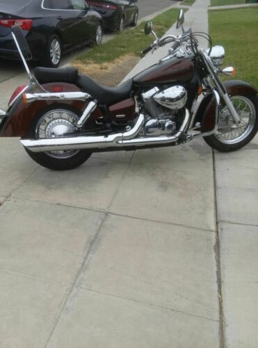 2006 Honda Shadow Burgundy craigslist