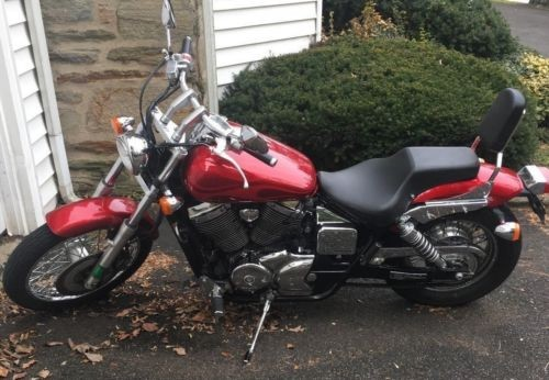 2006 Honda Shadow Red / Silver craigslist