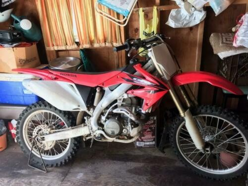 2006 Honda crf 450r Red for sale craigslist