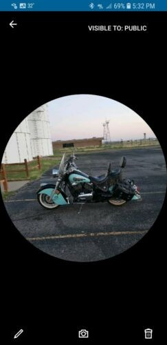 2006 Kawasaki Drifter Teal for sale