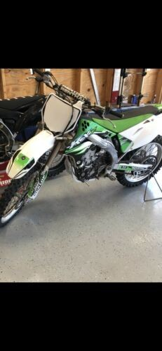 2006 Kawasaki KX Green for sale