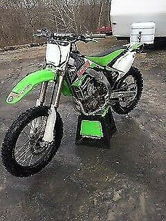 2006 Kawasaki KXF green for sale