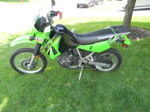 2006 Kawasaki Klr650 Green/black for sale craigslist