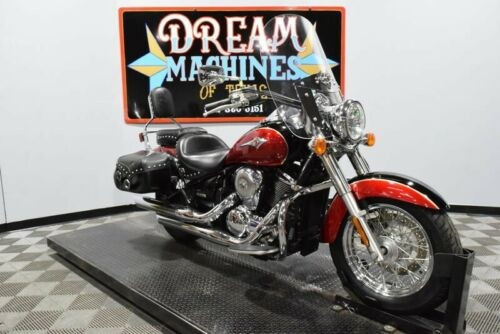2006 Kawasaki Vulcan 900 Classic LT - VN900D Managers Special -- Red craigslist