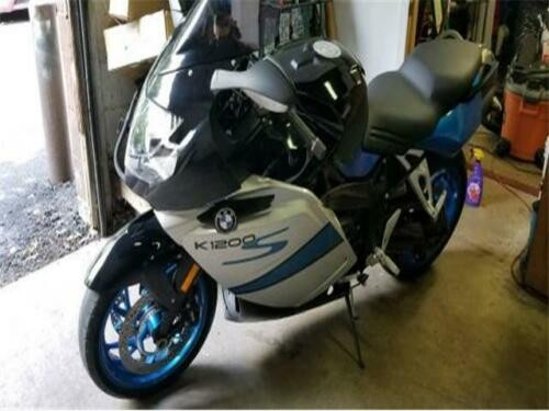 2007 BMW K-Series K1200 S Blue for sale craigslist
