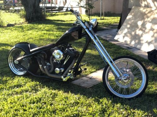 2007 Custom Built Motorcycles Chopper Black for sale craigslist
