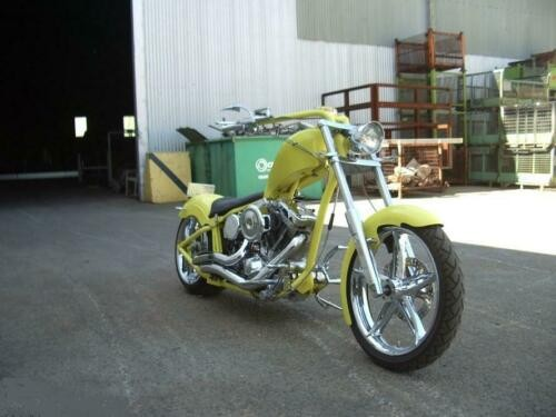 2007 Custom Built Motorcycles Chopper Yellow for sale