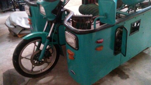 2007 Custom Built Motorcycles SUZUKI chassis POWER by HONDA Turquoise for sale