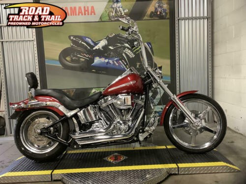 2007 Harley-Davidson FXST - Softail® Standard -- Red for sale craigslist