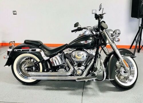 2007 Harley-Davidson Softail Deluxe Black for sale