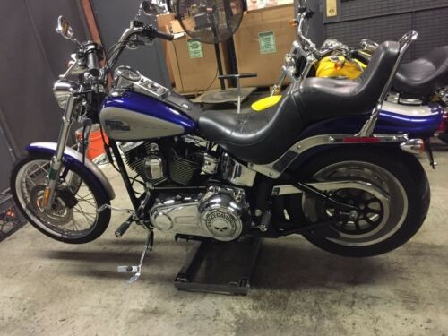 2007 Harley-Davidson Softail Blue and Grey for sale