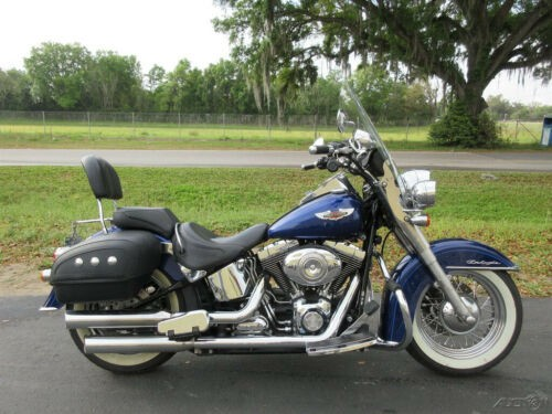 2007 Harley-Davidson Softail Softail® Deluxe Blue for sale