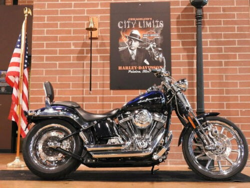 2007 Harley-Davidson Softail CVO SPRINGER FXSTSSE Blue for sale
