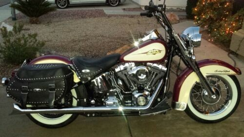 2007 Harley-Davidson Softail Burgundy for sale craigslist