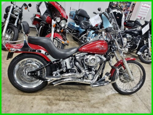 2007 Harley-Davidson Softail FXSTC Custom Fire Red Pearl craigslist