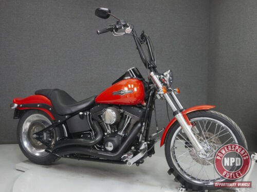 2007 Harley-Davidson Softail FXSTB NIGHT TRAIN Orange craigslist