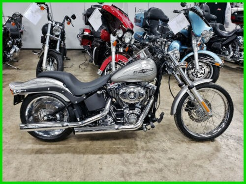 2007 Harley-Davidson Softail FXSTB Night Train Pewter Denim / Black Striped Flames for sale craigslist