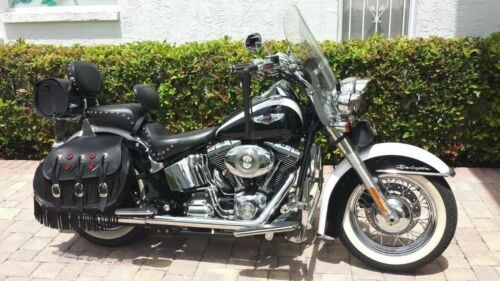 2007 Harley-Davidson Softail White and Black for sale craigslist