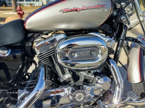 2007 Harley-Davidson Sportster Maroon and Silver craigslist