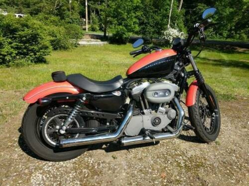 2007 Harley-Davidson Sportster Orange/black craigslist