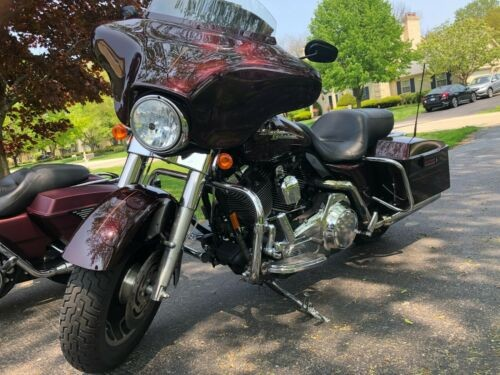 2007 Harley-Davidson Touring Black Cherry for sale