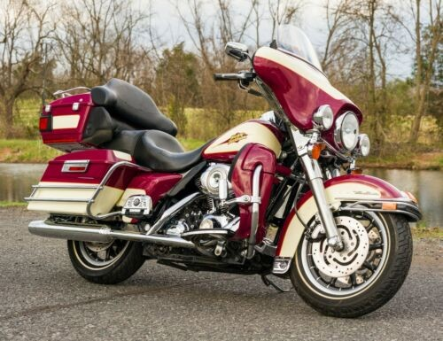 2007 Harley-Davidson Touring Burgandy Cream and Gold Pearl for sale