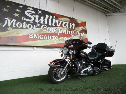 2007 Harley-Davidson Touring Ultra Classic Burgundy for sale craigslist