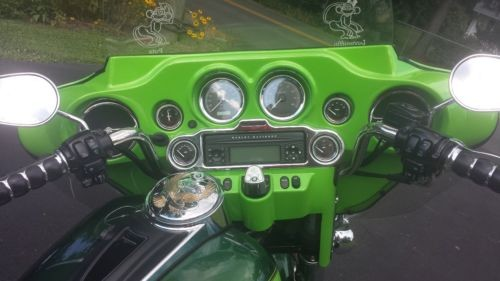 2007 Harley-Davidson Touring Dark Green Envy Pearl/Light Green Envy Pearl for sale craigslist