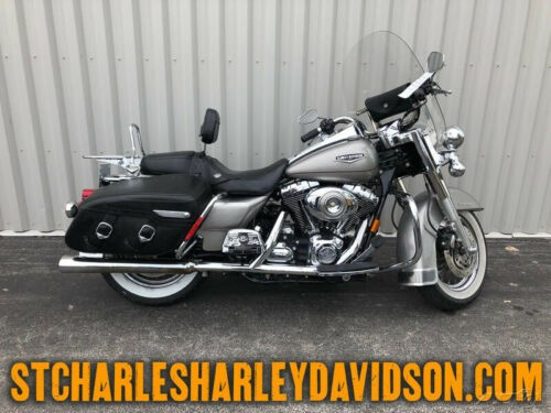 2007 Harley-Davidson Touring Silver for sale