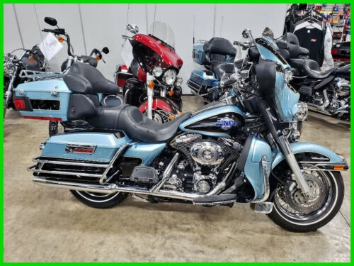 2007 Harley-Davidson Touring Suede Blue Pearl / Dark Blue for sale craigslist