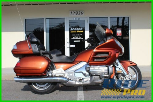 2007 Honda Gold Wing Audio / Comfort / Navi Orange for sale craigslist
