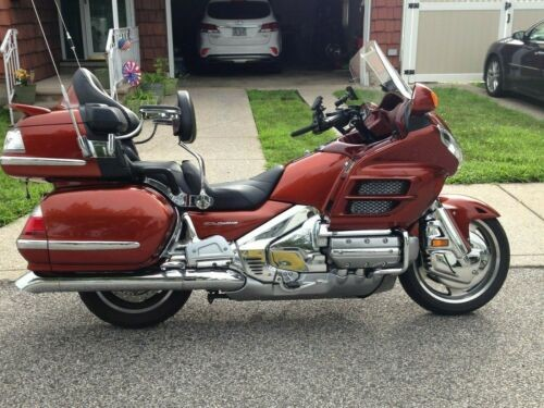 2007 Honda Honda Gold Wing GL1800 Dark Orange Metallic for sale