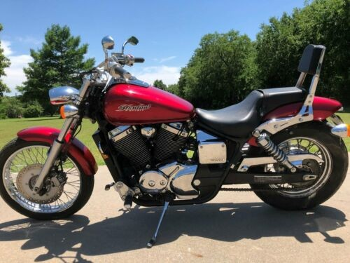 2007 Honda Shadow Red for sale